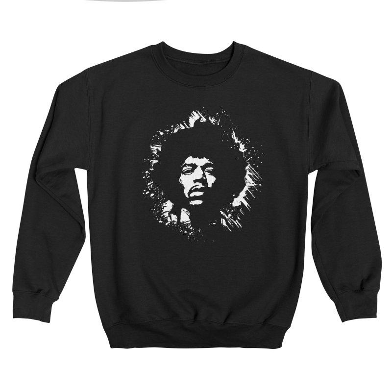 Grunge Hendrix II Feminine Sweatshirt by Ale Borges