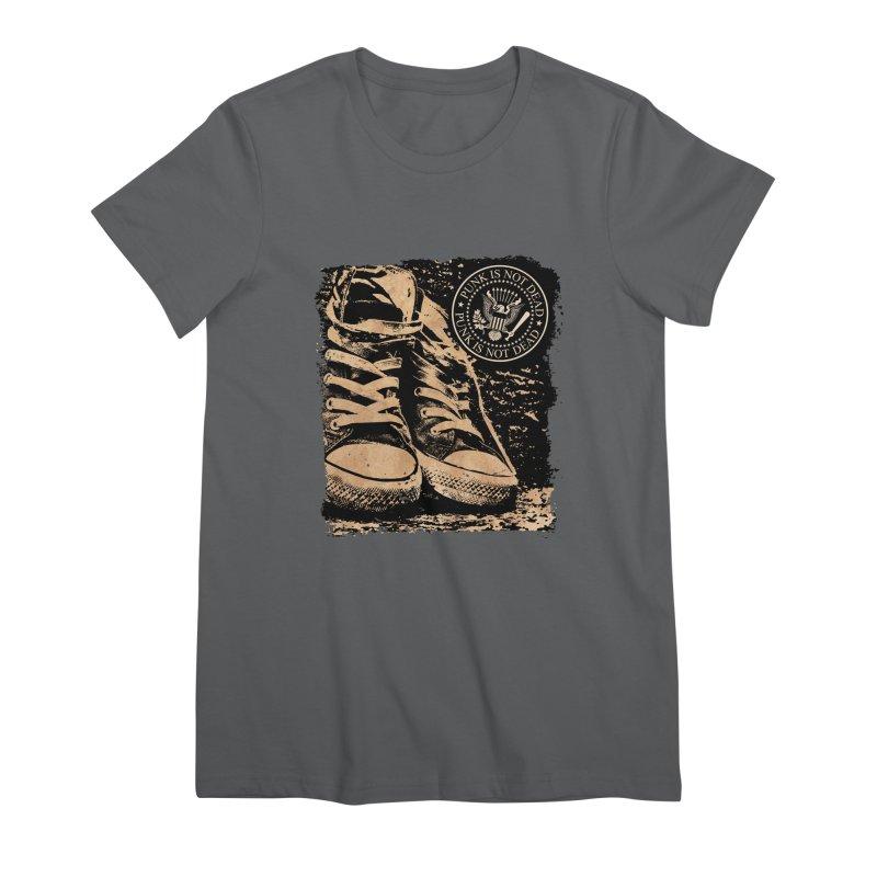 Punk is Not Dead Feminine T-Shirt by Ale Borges