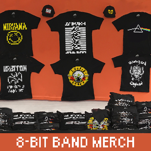 8-Bit-Band-Merch