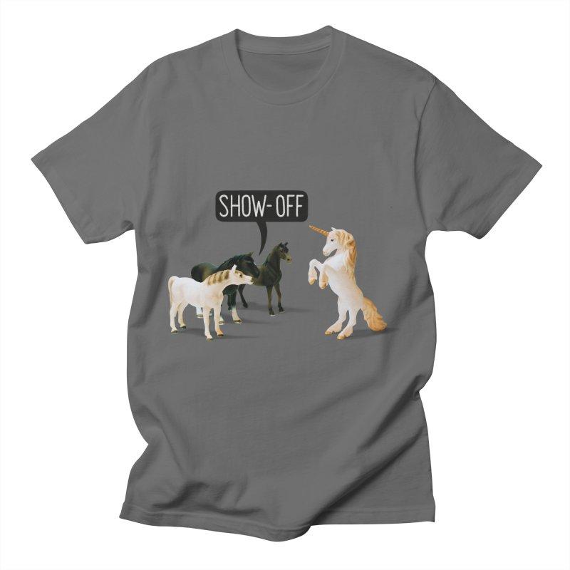 Show-Off Men's T-Shirt by Aled's Artist Shop