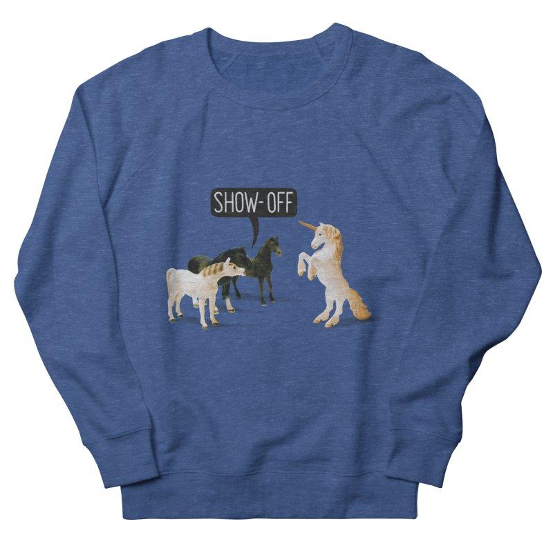 Show-Off Men's Sweatshirt by Aled's Artist Shop