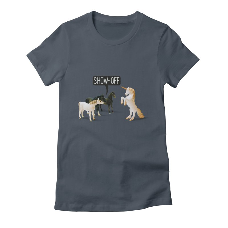 Show-Off Women's T-Shirt by Aled's Artist Shop