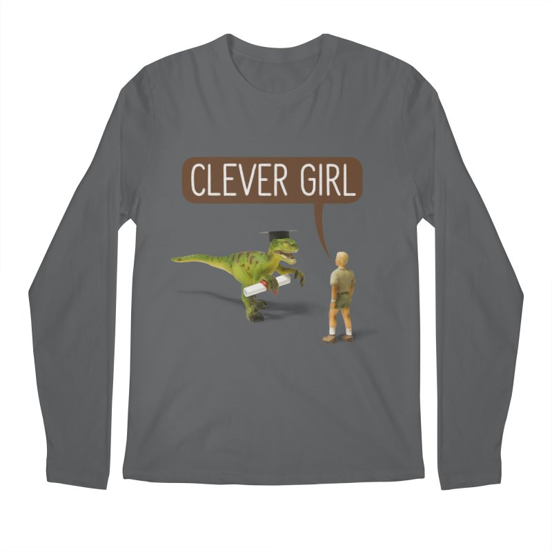 Philosoraptor Men's Longsleeve T-Shirt by Aled's Artist Shop