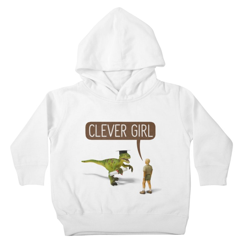 Philosoraptor Kids Toddler Pullover Hoody by Aled's Artist Shop