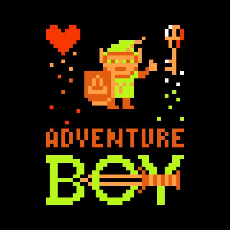 Adventure Boy Men's Triblend T-Shirt by Aled's Artist Shop