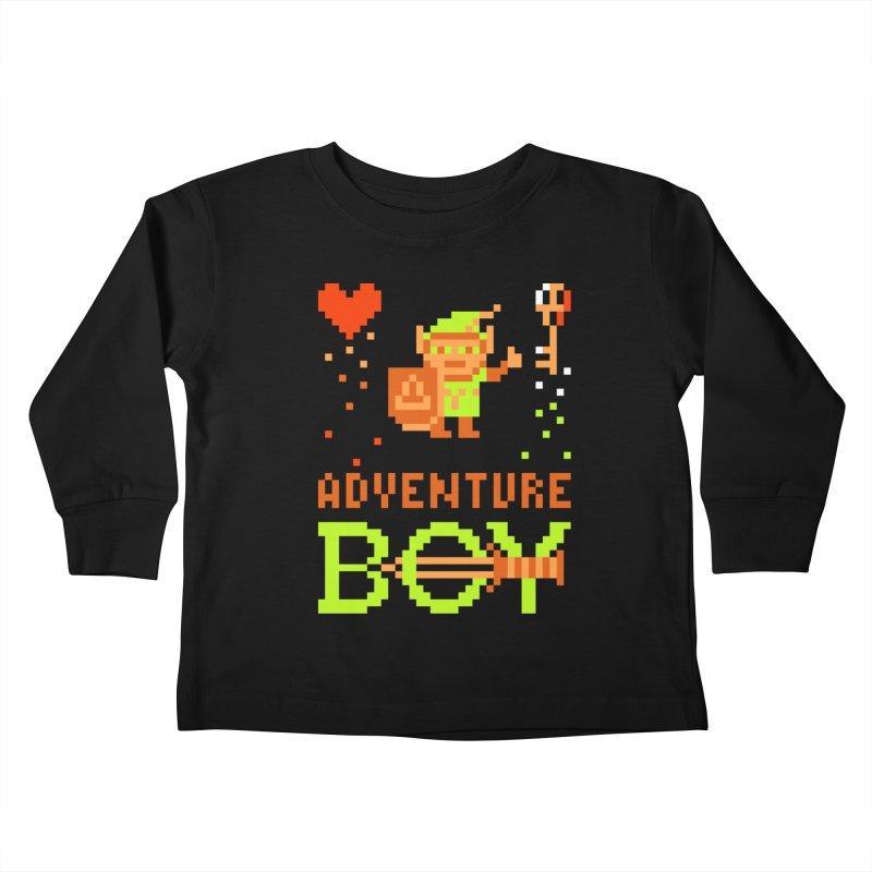 Adventure Boy Kids Toddler Longsleeve T-Shirt by Aled's Artist Shop