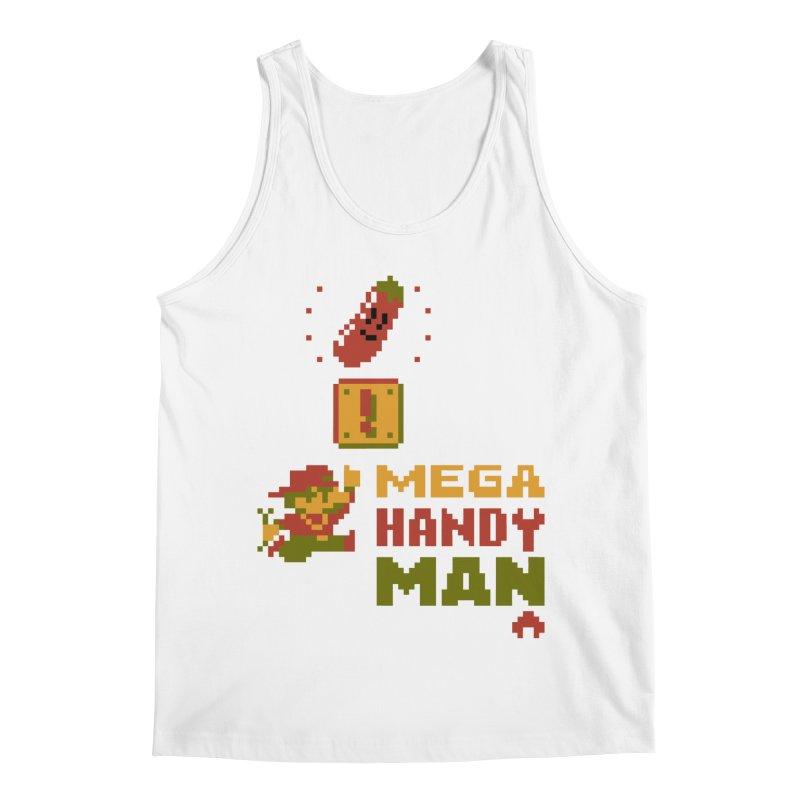 Mega Handy-Man Men's Regular Tank by Aled's Artist Shop