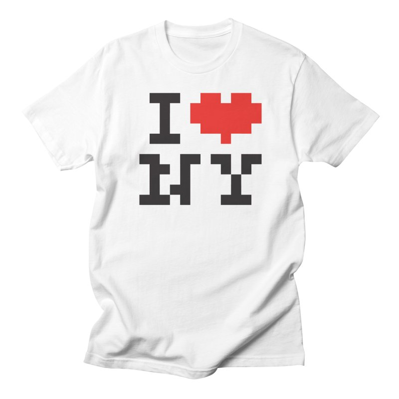 Heart Men's T-Shirt by Aled's Artist Shop