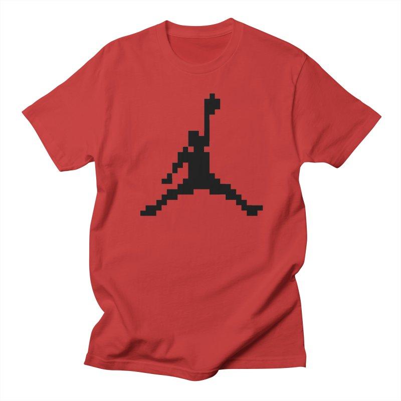 Baller in Men's Regular T-Shirt Red by Aled's Artist Shop