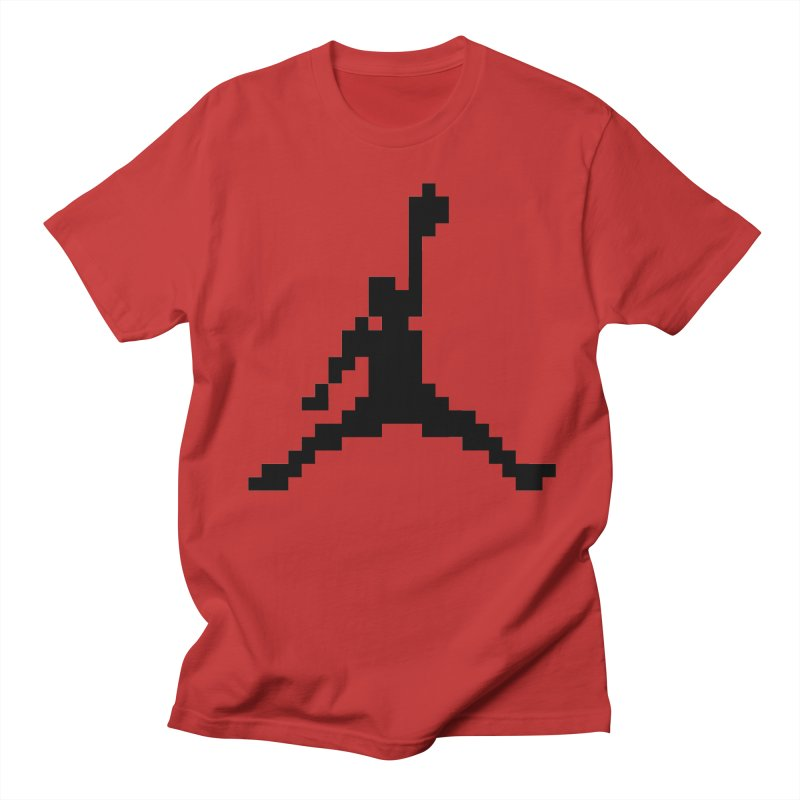 Baller in Men's T-Shirt Red by Aled's Artist Shop