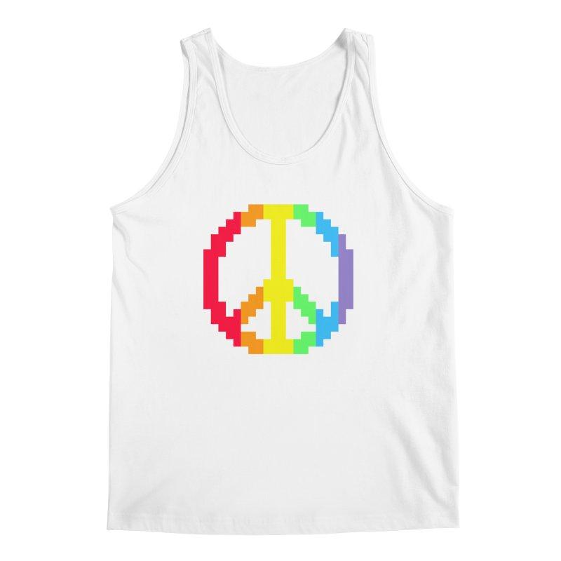Peace Spectrum ☮ Men's Tank by Aled's Artist Shop