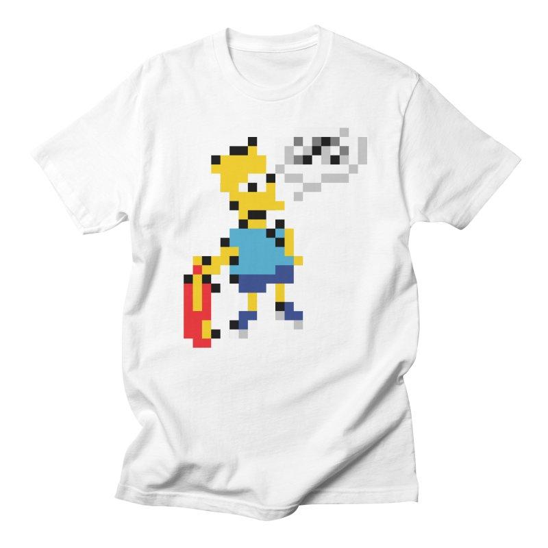 Brat in Men's Regular T-Shirt White by Aled's Artist Shop