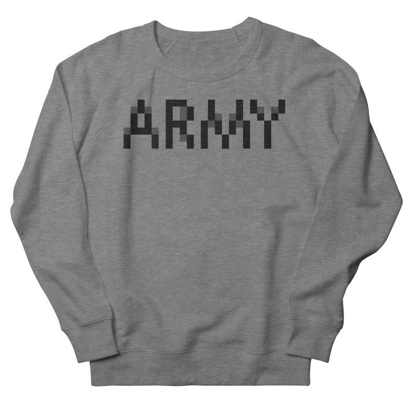 ARMY Women's French Terry Sweatshirt by Aled's Artist Shop