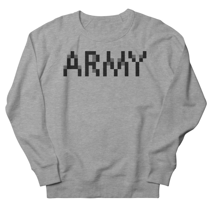 ARMY Men's Sweatshirt by Aled's Artist Shop