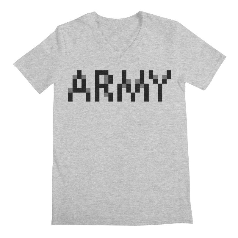 ARMY Men's V-Neck by Aled's Artist Shop