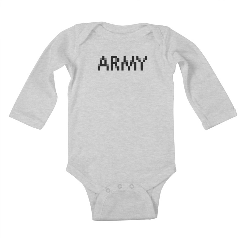 ARMY Kids Baby Longsleeve Bodysuit by Aled's Artist Shop