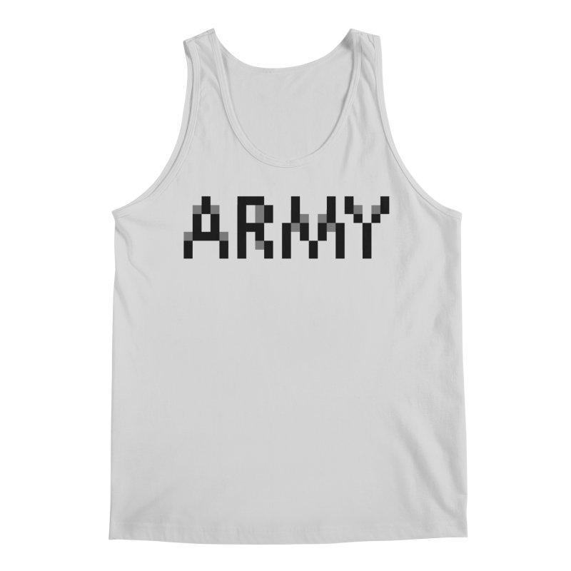 ARMY Men's Regular Tank by Aled's Artist Shop