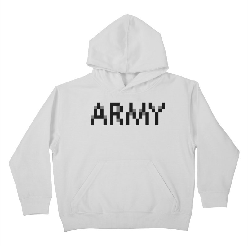 ARMY Kids Pullover Hoody by Aled's Artist Shop