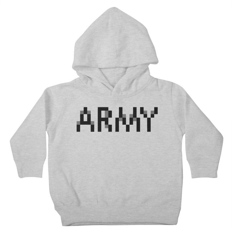 ARMY Kids Toddler Pullover Hoody by Aled's Artist Shop