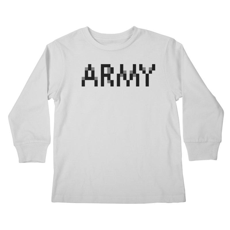 ARMY Kids Longsleeve T-Shirt by Aled's Artist Shop