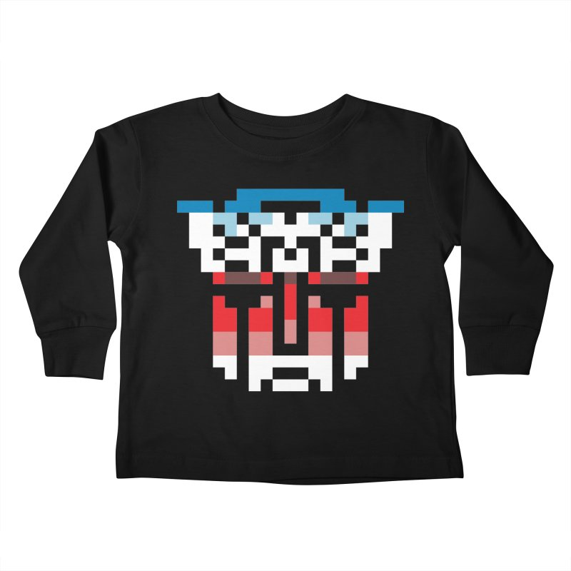Robo-Morphers Kids Toddler Longsleeve T-Shirt by Aled's Artist Shop