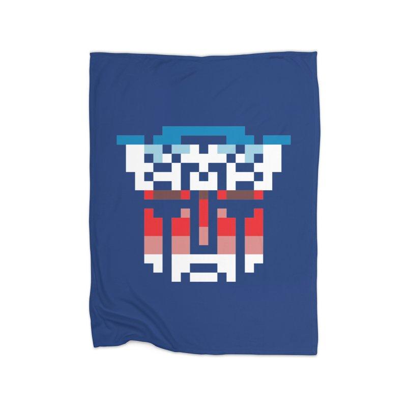 Robo-Morphers Home Fleece Blanket Blanket by Aled's Artist Shop