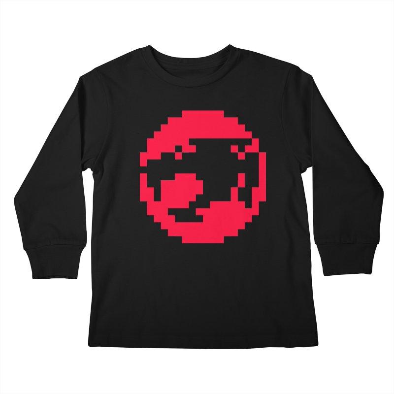 Cat People Kids Longsleeve T-Shirt by Aled's Artist Shop