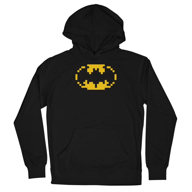 Bat Men's French Terry Pullover Hoody by Aled's Artist Shop