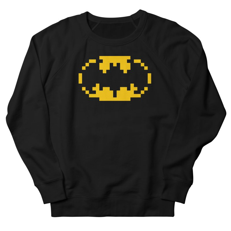 Bat Men's French Terry Sweatshirt by Aled's Artist Shop