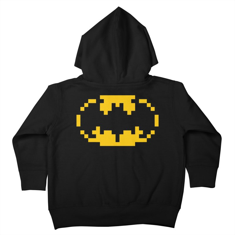 Bat Kids Toddler Zip-Up Hoody by Aled's Artist Shop