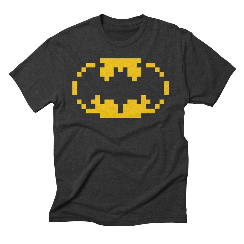 Bat in Men's Triblend T-Shirt Heather Onyx by Aled's Artist Shop