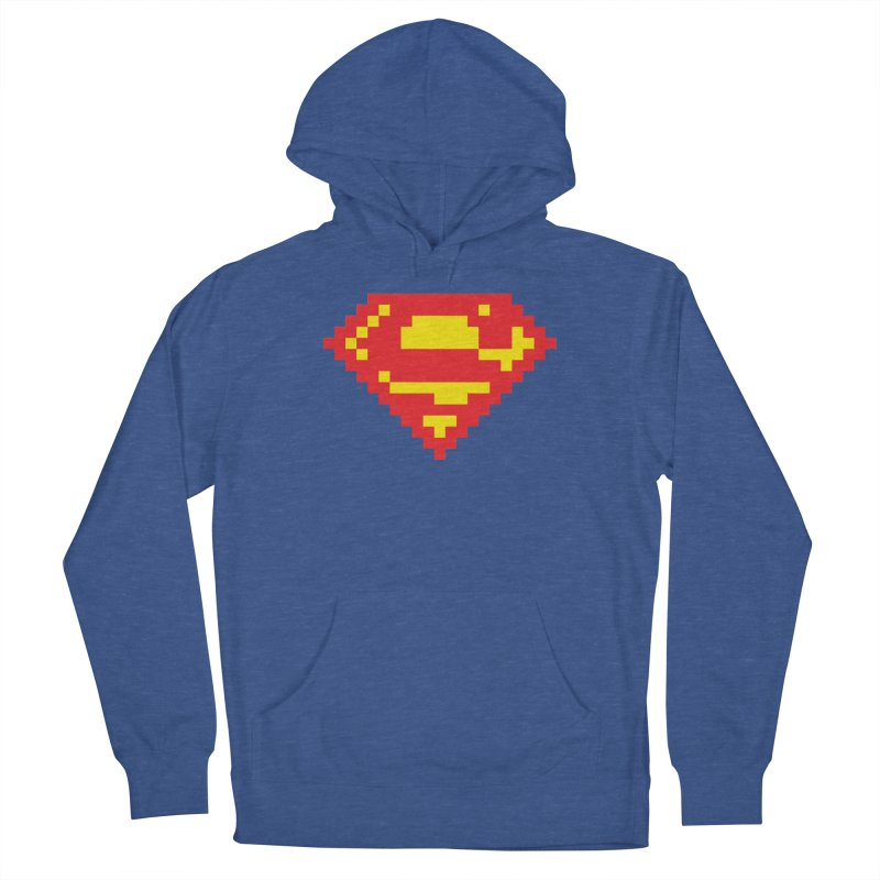 Super Men's Pullover Hoody by Aled's Artist Shop