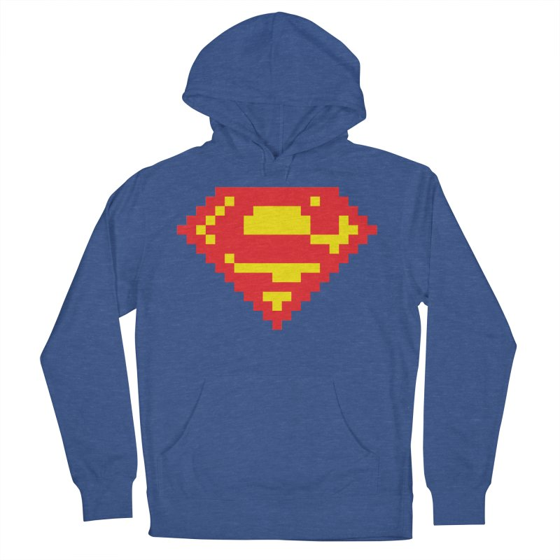 Super Men's French Terry Pullover Hoody by Aled's Artist Shop