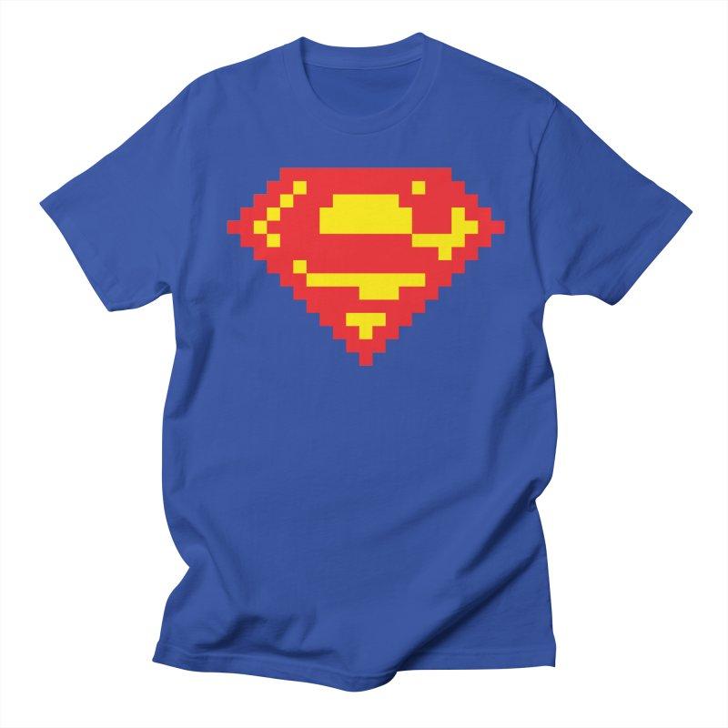 Super Men's T-Shirt by Aled's Artist Shop
