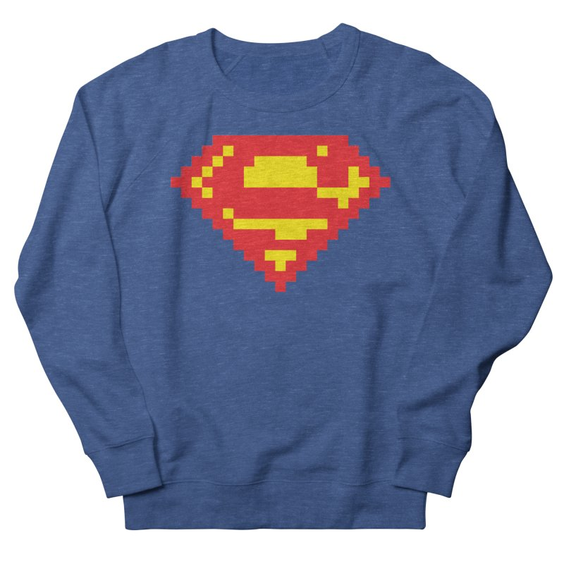 Super Men's French Terry Sweatshirt by Aled's Artist Shop