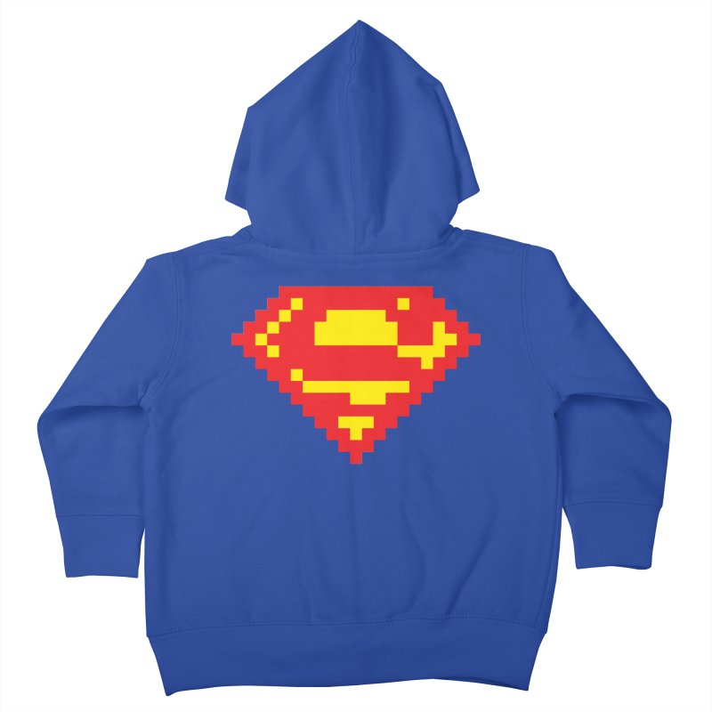 Super Kids Toddler Zip-Up Hoody by Aled's Artist Shop