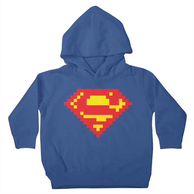 Super Kids Toddler Pullover Hoody by Aled's Artist Shop