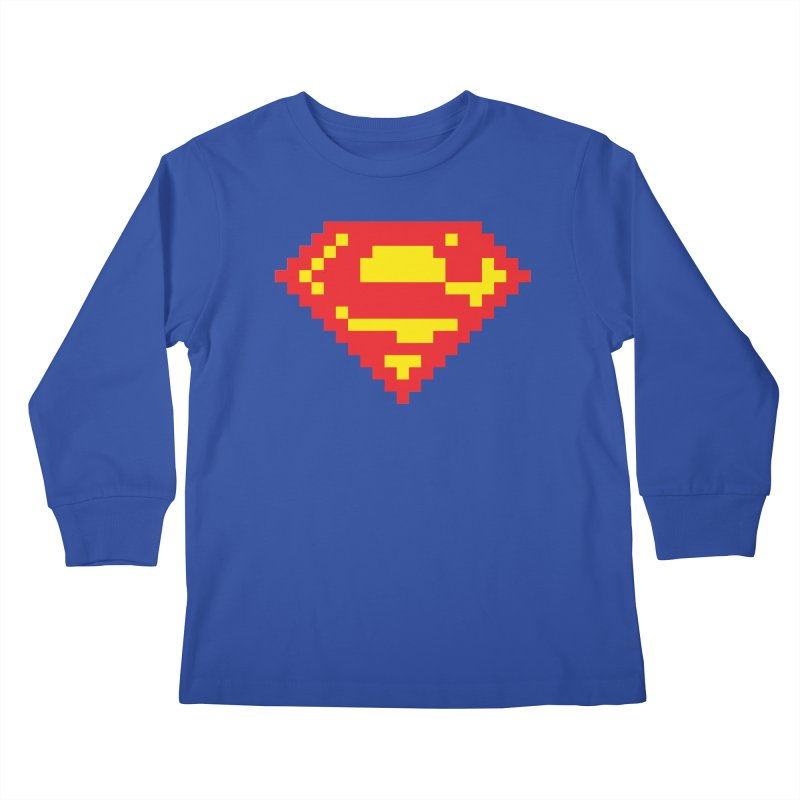 Super Kids Longsleeve T-Shirt by Aled's Artist Shop