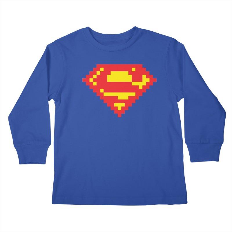 Super Kids Longsleeve T-Shirt by Aled's Artist Shop