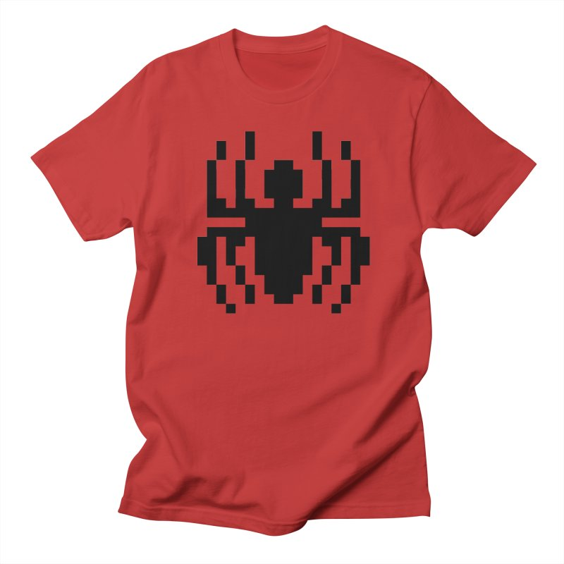 Spider Men's T-Shirt by Aled's Artist Shop