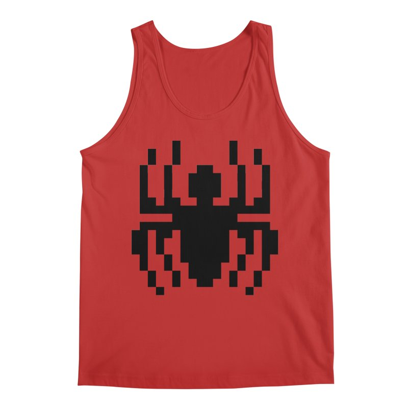 Spider Men's Regular Tank by Aled's Artist Shop