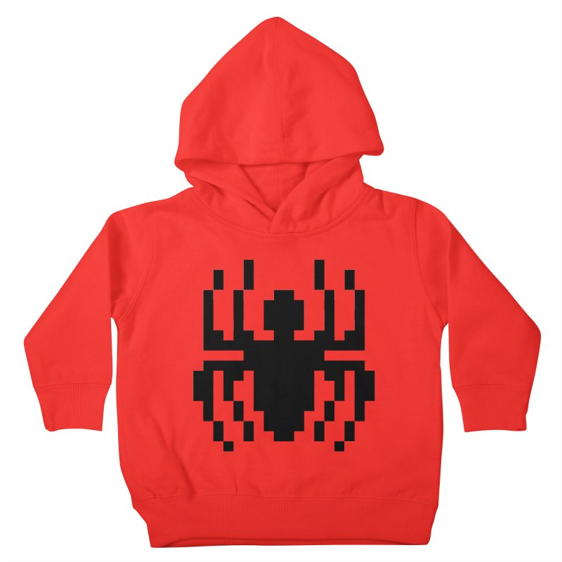 Spider Kids Toddler Pullover Hoody by Aled's Artist Shop