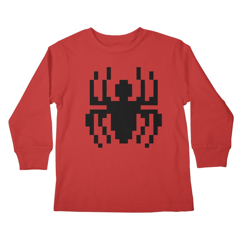 Spider Kids Longsleeve T-Shirt by Aled's Artist Shop