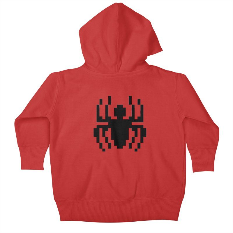 Spider Kids Baby Zip-Up Hoody by Aled's Artist Shop