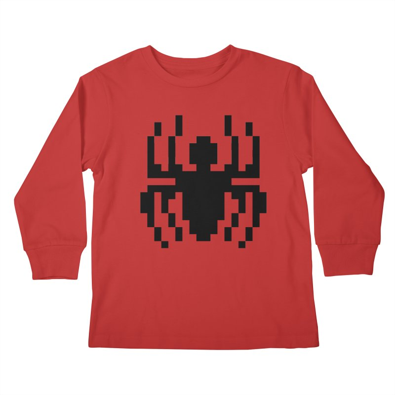Spider Kids Longsleeve T-Shirt by Aled's Artist Shop