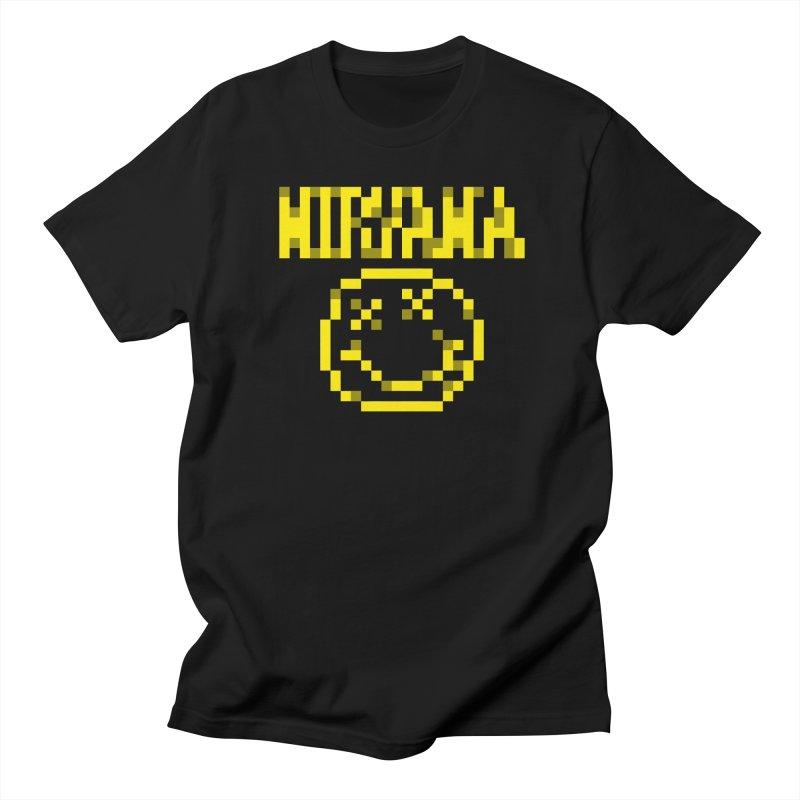 Grunge Band Men's T-Shirt by Aled's Artist Shop