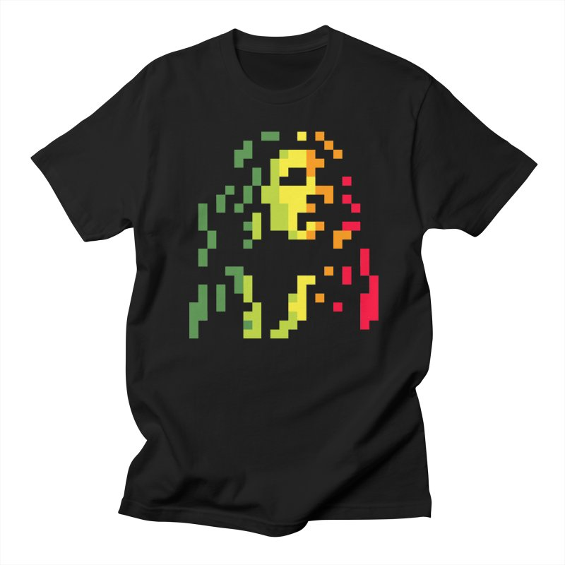 Reggae Icon Men's T-Shirt by Aled's Artist Shop