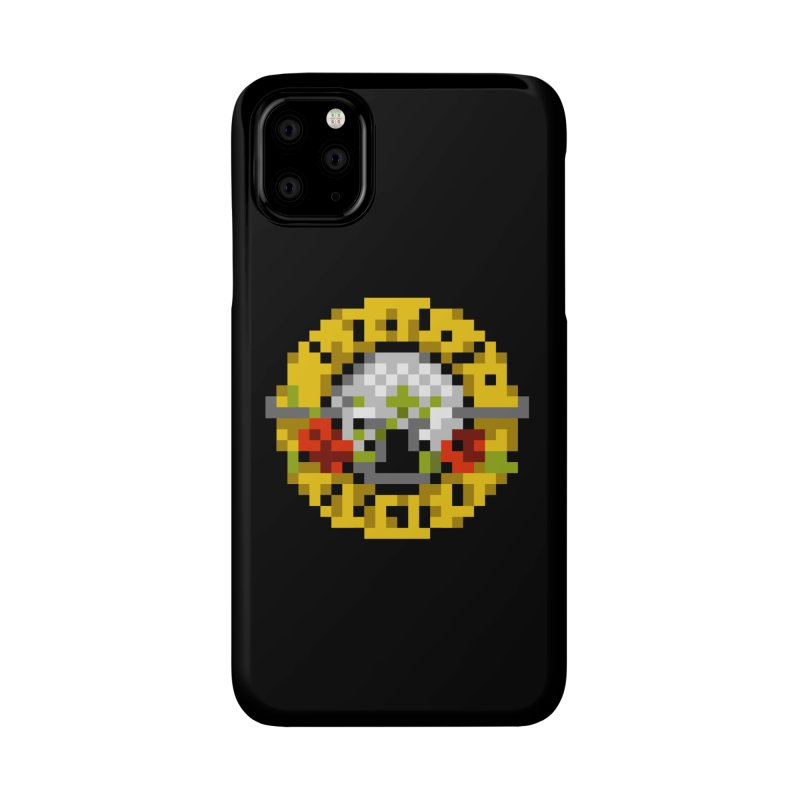Hard Rock Band Accessories Phone Case by Aled's Artist Shop