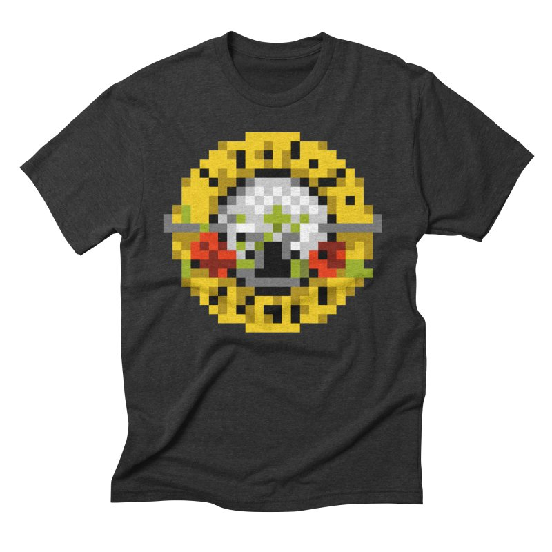 Hard Rock Band in Men's Triblend T-shirt Heather Onyx by Aled's Artist Shop