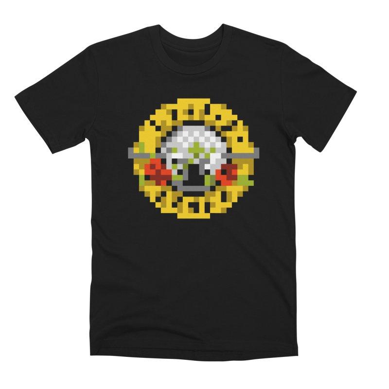 Hard Rock Band Men's Premium T-Shirt by Aled's Artist Shop